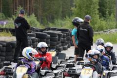 ÄmSeen ja nuorisotyön yhteinen kartingreissu mopokerholaisille 2.7.15