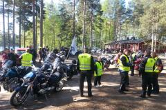 Gospel Ridersien motoristikirkko Rautalammilla 25.5.2013