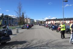 Hymyilevä motoristi Kuopio 19.5.2012