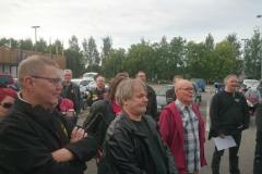 Kuopio triathlon liikenteenohjaus 8.8.2015